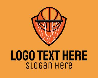 Trainer - Basketball Hoop logo design