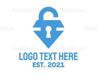 Encrypted - Jewel Locksmith logo design
