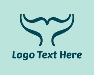 Script - Whale Script logo design