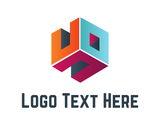 Web - Cube Room logo design