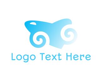 Hypnosis - Spiral Shark logo design
