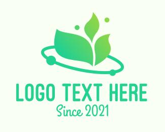 Agritech - Green Leaf Eco Agritech logo design