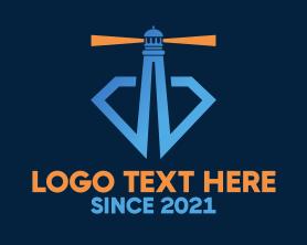 Guard - Diamond Lighthouse logo design