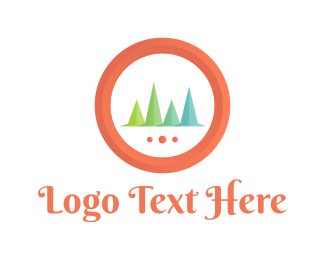 Outdoor - Pine Forest logo design