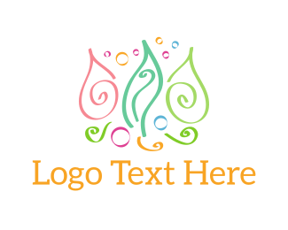 Colorful Seaweed Logo