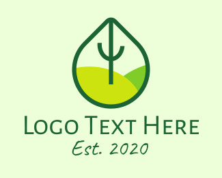 Preservation - Green Eco Park logo design