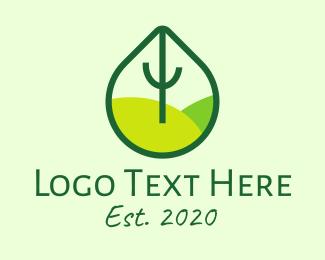 Earth - Green Eco Park logo design