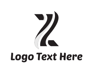 Zebra - Letter z logo design