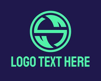 Eco Startup Letter S  Logo