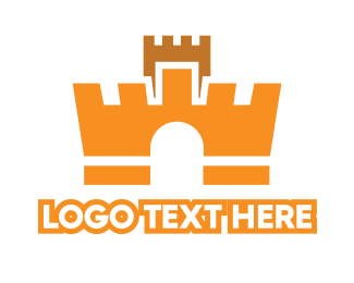 Fortress - Crown Fortress logo design
