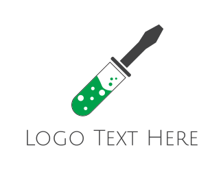 Laboratory - Mechanic Laboratory logo design