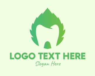 Green Tooth - Green Mint Dental logo design