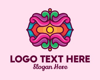 Convention Center - Fancy Festival Decoration logo design