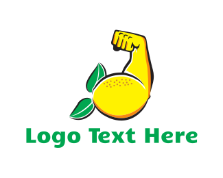Citric - Strong Lemon logo design