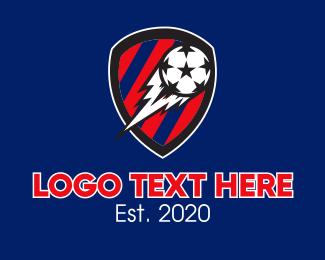 Football - Soccer Ball Football logo design