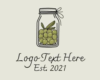 Oil - Organic Olive Oil  logo design