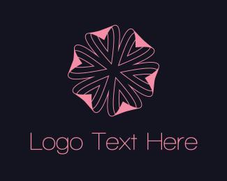 Skin - Pink Flower logo design