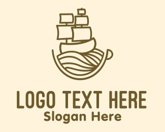 Coffee Cup - Coffee Cup Galleon logo design