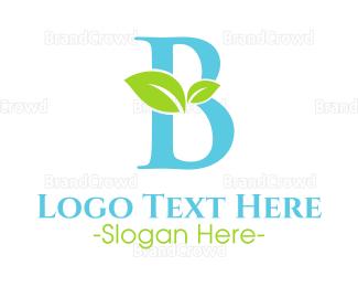 Bamboo - Eco Letter B logo design