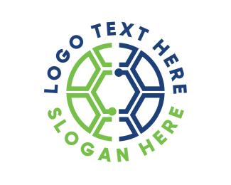 League - Soccer Tech logo design