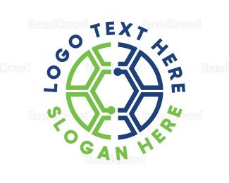 Barcelona - Soccer Tech logo design