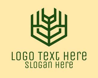 Green Farm Agriculture logo design