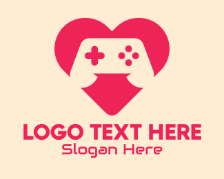Video Game Console - Video Game Lover logo design
