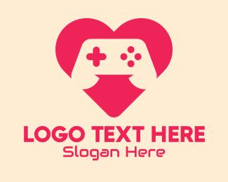 Video Game Controller - Video Game Lover logo design