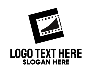 Directing - Modern Film Reel logo design