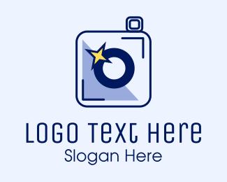 Flash - Camera Sparkle Flash  logo design