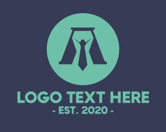 Boss - Executive Boss Letter A logo design