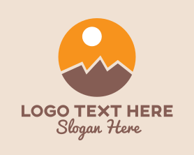 Hiking - Outdoor Mountaineering logo design