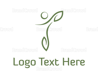 Human - Human Leaves logo design