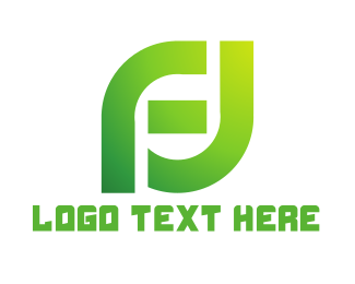 Gaming - Green FJ Gaming logo design