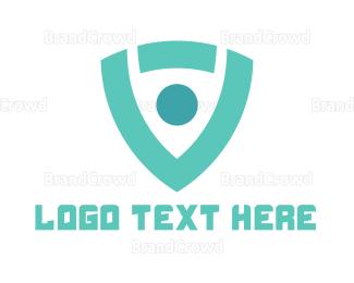 Modern - Modern Shield logo design