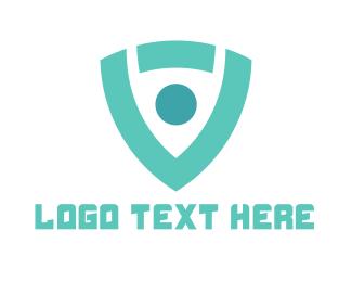 Information Technology - Modern Generic Shield logo design