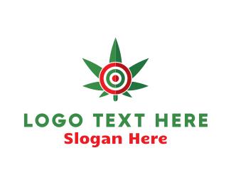 Cannabis Target Logo