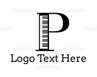 """Piano Letter P"" by skippadouza"