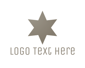 Kosher - Silver Star logo design