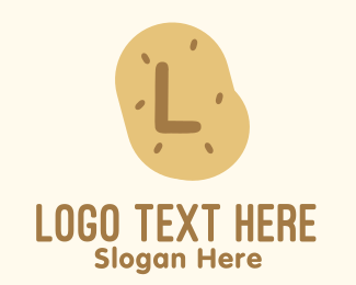 Potato - Farm Potato Lettermark logo design