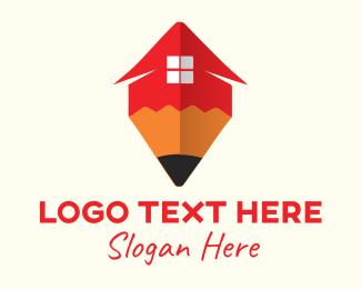 Kindergarten - Red Pen House logo design