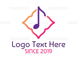 Ballad - Classy Music Note  logo design