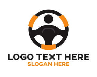 Ridesharing - Driving Community logo design