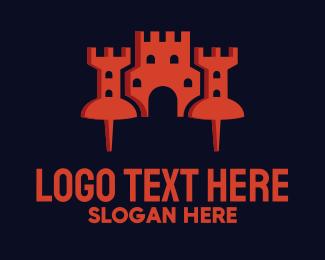Fort - Tack Castle logo design