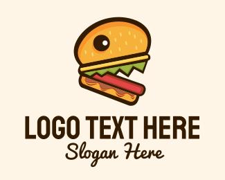 """""""Hamburger Burger Monster"""" by spayro"""