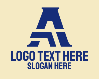 """""""Modern Company Letter A"""" by SimplePixelSL"""