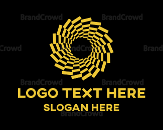 Magic - Hypnotic Flower logo design