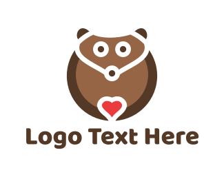 Lovely Bear Logo