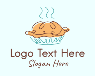 Pie - Bakery Baked Pie logo design