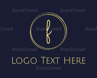 Fashion - Fashion F Circle logo design